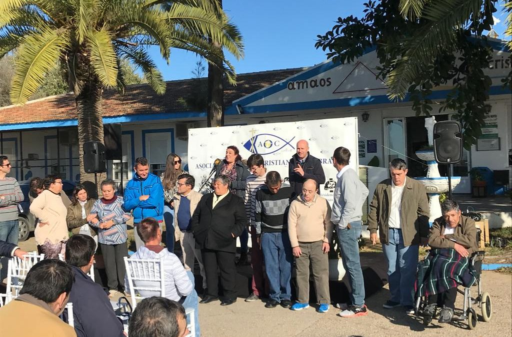 Residencias de Adultos y Gravemente Afectados y el Centro Ocupacional  'El Cristo Roto', de Obras Cristianas, celebraron conjuntamente el Día Internacional de las Personas con Discapacidad