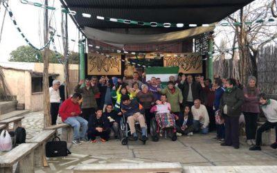 El Centro Ocupacional El Cristo Roto celebró el Día de Andalucía