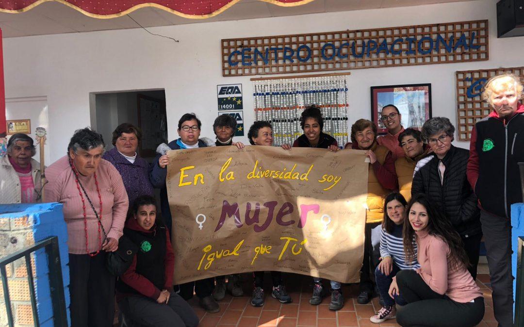 El Centro Ocupacional y la Residencia de Adultos y Adultas 'El Cristo Roto' celebraron el pasado domingo 8 de marzo el Día de la Mujer