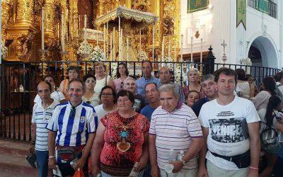 Inolvidable excursión del Centro Ocupacional 'El Cristo Roto' a la aldea mariana de El Rocío